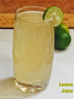Lemon Juice Recipe for Babies, Toddlers and Kids2