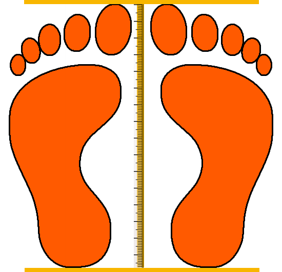 kid foot measure