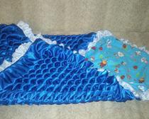 Одеялко на выписку из креп-сатина