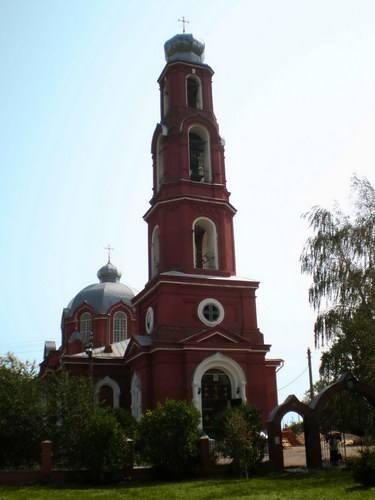 Церковь Казанской иконы Божьей Матери в с.Александровка