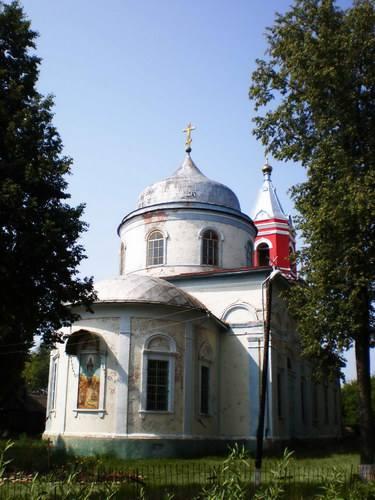 Церковь Покрова Пресвятой Богородицы в с. Ясенок