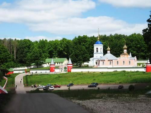 Свято Александро Невский Софрониев монастырь на границе с Кораблинским районом