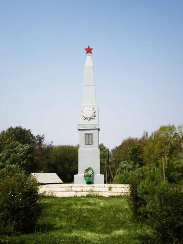 Обелиск героям ВОВ в с. Коноплино